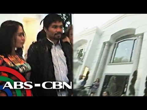 Pacquiao family tours Beverly Hills mansion