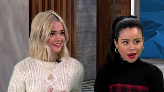 The actresses talked to ET and teased what 'Fosters' fans can expect from the show's spin-off. 'Good Trouble' airs Tuesdays at 8 p.m. ET on Freeform. ET Live Is ...
