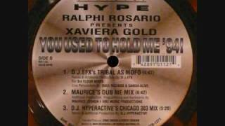 Xavier Gold -You Used To Hold Me 94( Dj Hyperactive