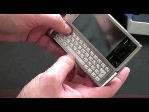 Sony Ericsson Xperia X1 Unboxing