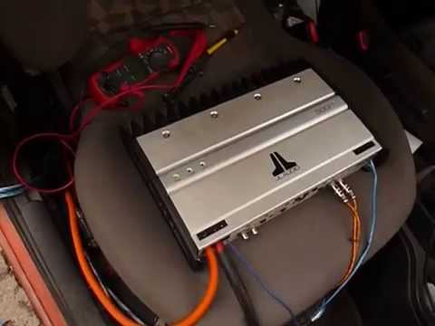 jl slash 500 1 con mmats 2 0 de 12 youtube rh youtube com jl audio 500 1 service manual jl audio 500 1 speaker wiring
