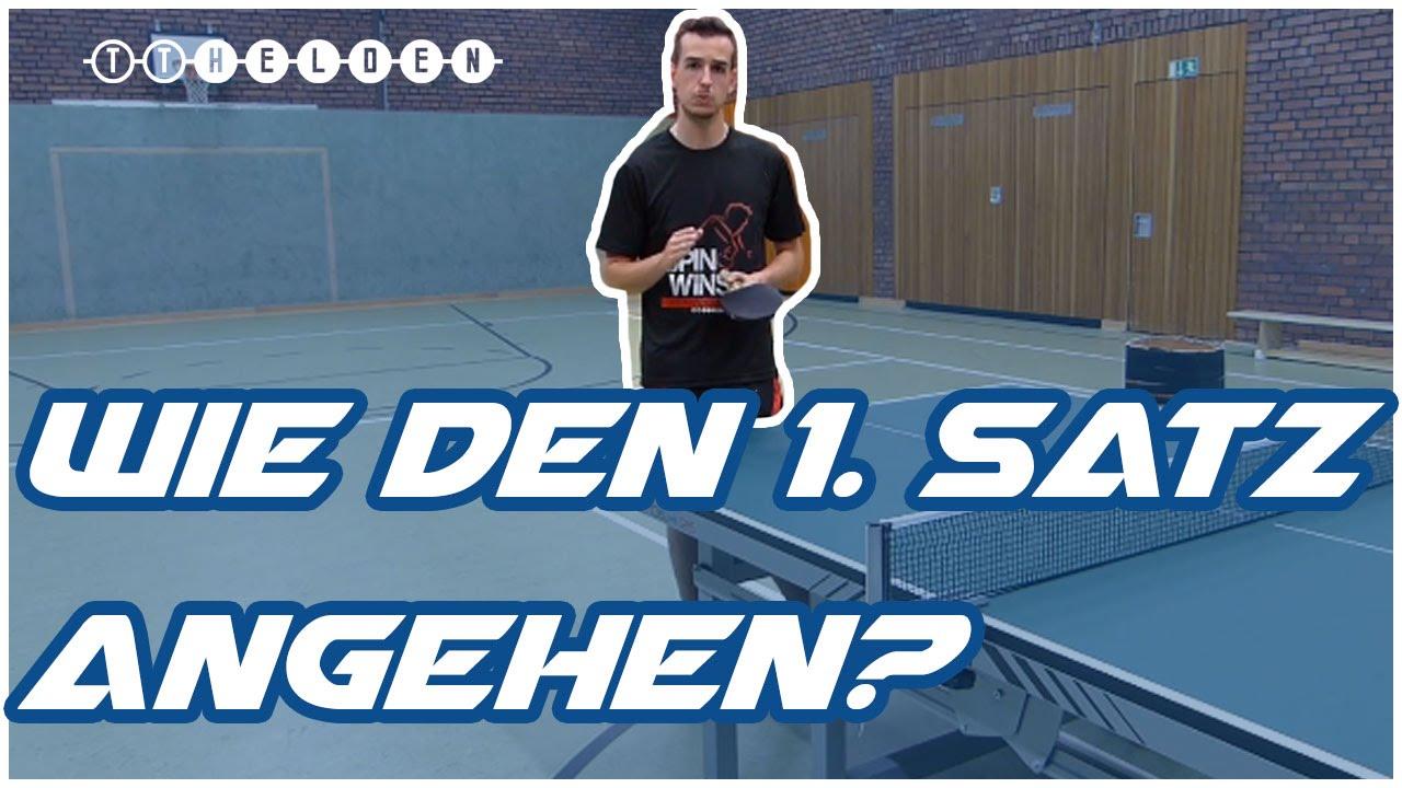Tischtennis Satz