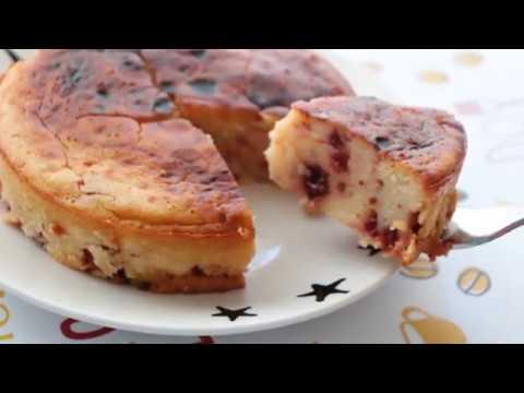 recette-de-gâteau-yaourt-et-cerises-très-facile