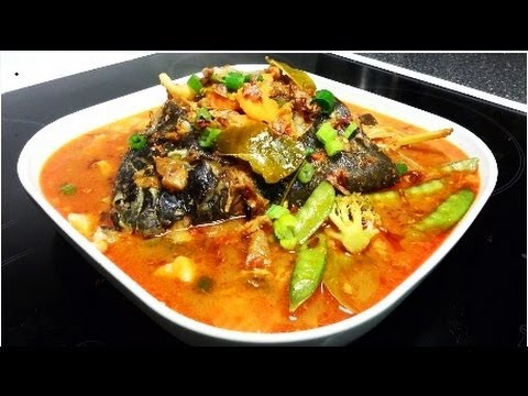 How to make head fish soup cara membuat sup kepala ikan for How to make fish soup