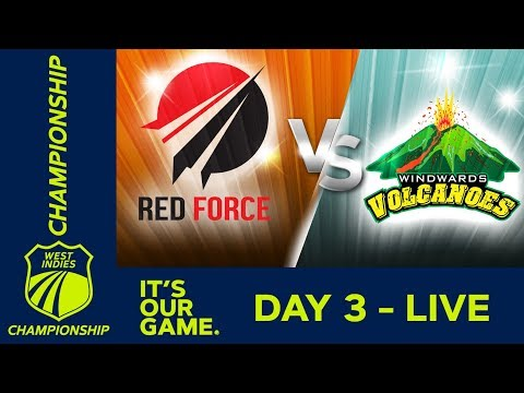 *LIVE West Indies Championship* - Day 3 | T&T Red Force v Windwards | Saturday 15 December 2018