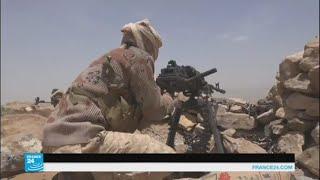 اشتعال المعارك في مديرية نهم وعلى طول الشريط الحدودي مع السعودية