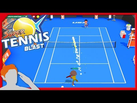 HOW DO YOU RUIN TENNIS? | Super Tennis Blast SWITCH FIRST 30