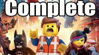 The Lego Movie Videogame Full Game Walkthrough HD Gameplay Lets Play Playthrough