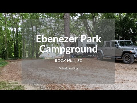 Camping At Ebenezer Park Campground On Lake Wylie | Rock Hill, SC