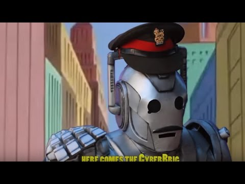 """CYBER-BRIG""- Doctor Who/Spiderman Parody (Idiot"