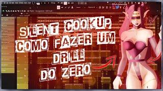 Como fazer um beat de Drill do ZERO! (FL Studio Silent Cook-UP 2021) - deu ruim??!! ☠️☠️☠️