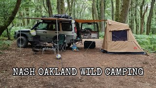 Wild camping at Nąsh Oakland Wild Camping | 4x4 | off grid