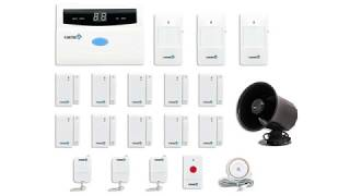 Fortress Security Store S02-B Wireless Home and Business Security Alarm System