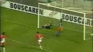 Montpellier - Monaco : But Olivier Sorlin saison 1999-2000