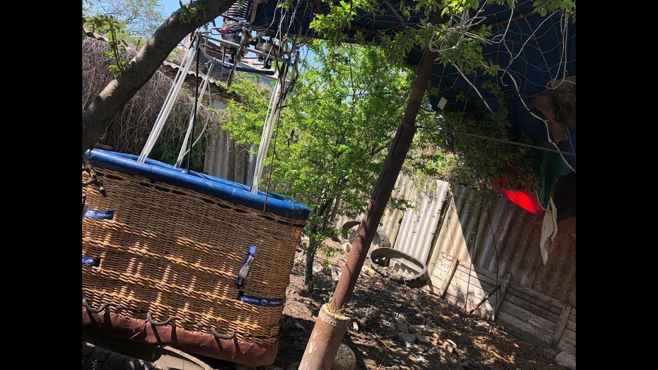 Как в Крыму 11-летняя девочка выжила после падения воздушного шара