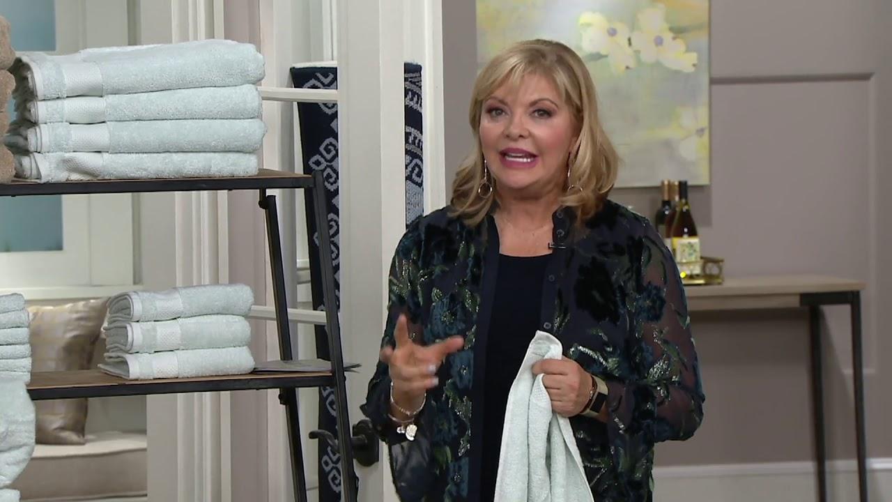 Scott Living Hygrocotton Bath Towels Hand Towels And Wash Cloths On Qvc Youtube