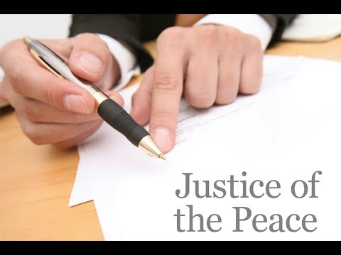 Lecture on Justice of peace by Muneer Sadhana Adv