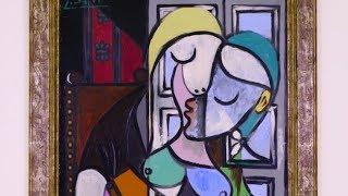 Pablo Picasso's Femme écrivant (Marie-Thérèse) (1934)