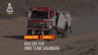 #DAKAR2021 - Stage 4 - Bad day for Hino Team Sugawara