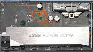 mobo PCB Breakdown: Gigabyte Z390 Aorus Ultra
