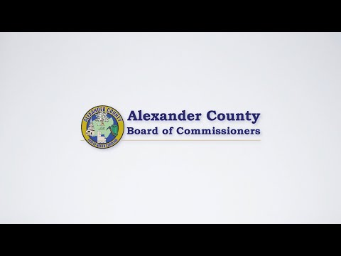 Alexander County Board of Commissioners Meeting - February 3, 2020