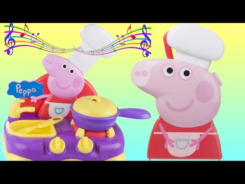 Peppa Pig Sing-Along Kitchen Playset Imaginative Kids Play | Toys Unlimited
