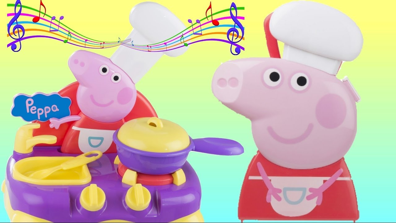 Peppa Pig Sing Along Kitchen Playset Imaginative Kids Play Toys Unlimited