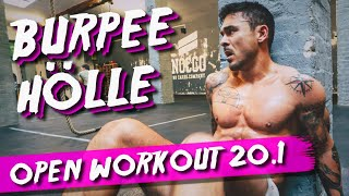We're back – Crossfit Open Workout 20.1