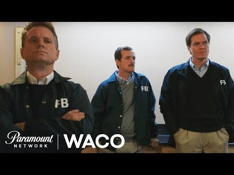 'Meet the Agents' Official BTS w/ Michael Shannon & More! | WACO | Paramount Network