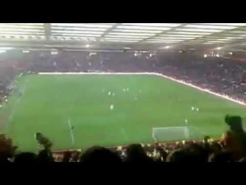 The Leeds Fans have terrified them! - Marching on together and the best Overhead kick ever