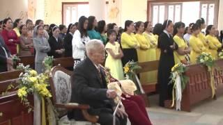 Thánh Lễ Tạ Ơn Mừng Kim Khánh Hôn Phối