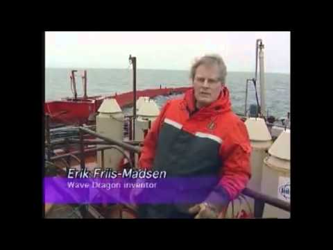 Wave Dragon - Danish wave power project