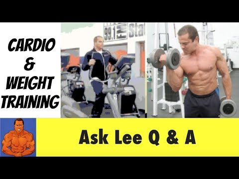 How To Combine CARDIO and WEIGHT TRAINING for Fat Loss