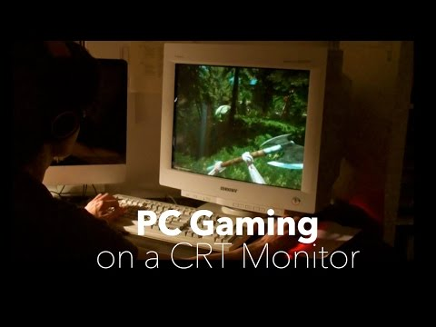 Modern PC Gaming on a CRT