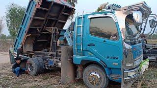 ฝาครอบไส่fusoมาแล้ว-dump-trucks-excavator