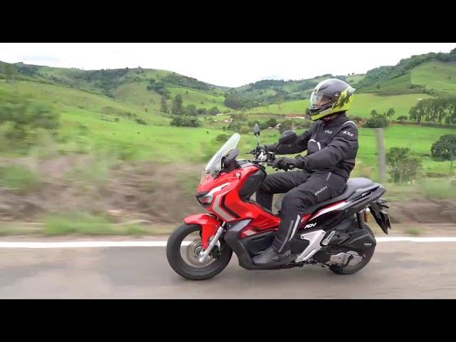 Honda ADV - Teste - VÍDEO