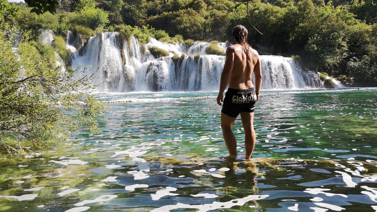 Kroatien 2020 Krka Nationalpark Wasserfälle