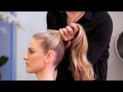 How to Do a High Ponytail | Long Hairstyles