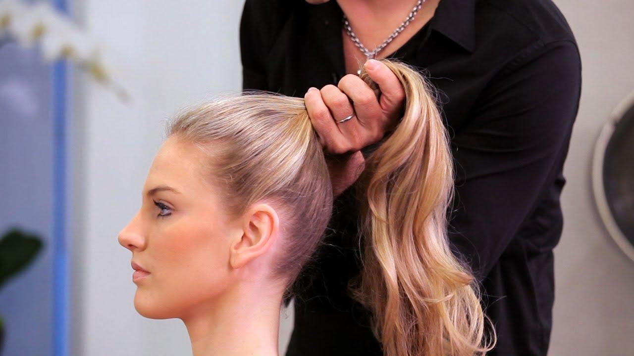 high ponytail long