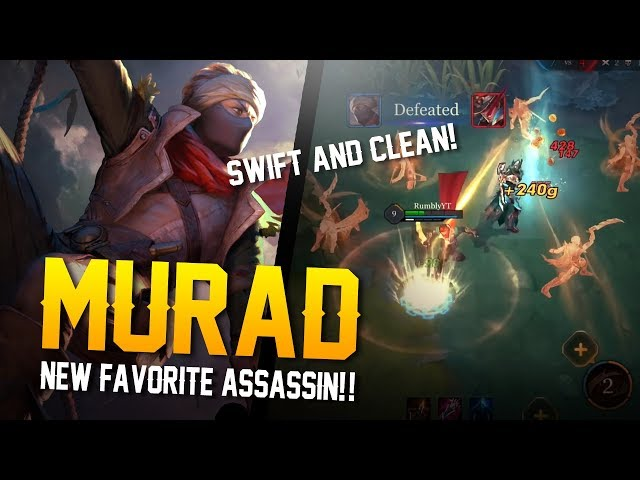 Arena of Valor - MY NEW ASSASSIN OF CHOICE!! Murad Gameplay
