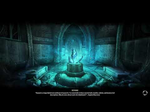 Elder Scrolls Online - Blackwood - Veyond Bug / Outside of the map |