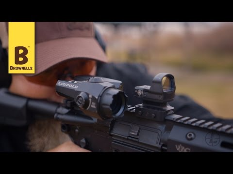 Leupold Delta Point Pro with Kyle Lamb of Viking Tactics  - YouTube