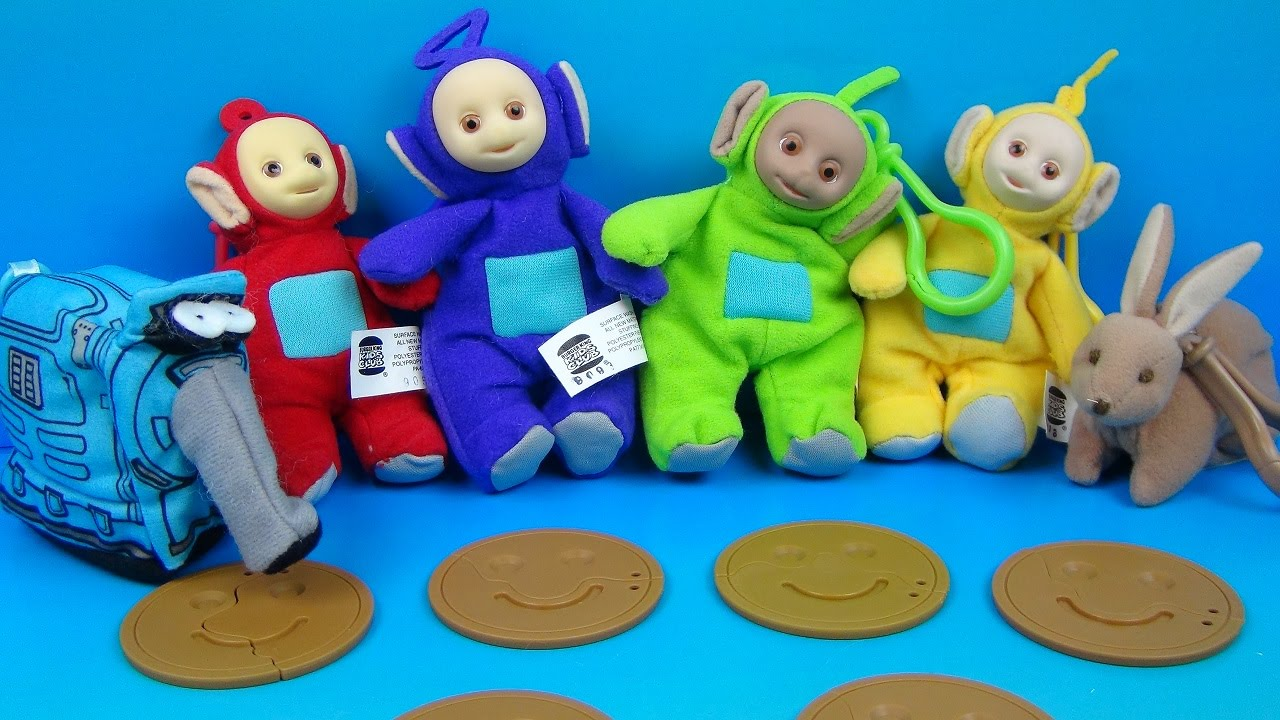 1999 Burger King Teletubbies Collaboration With Fastfoodtoyreviews