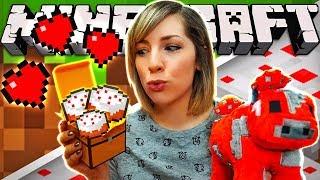 DIY Minecraft Cake Candy! 🍰
