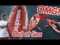 LAST SUPREME DROP! THE KAYAK AT SEA!