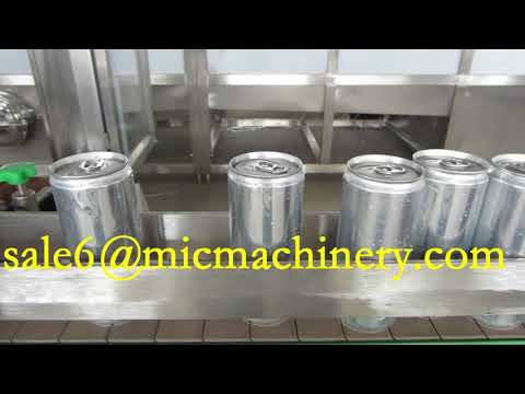 250ml Aluminum Can Beer Canning Machine