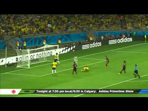 World Cup 2014 Semifinal - Germany vs Brazil
