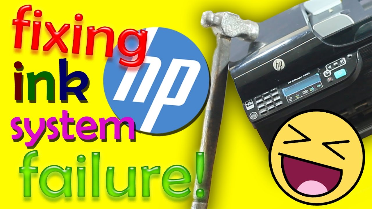 How to Fix the HP Ink System Failure (GAG)
