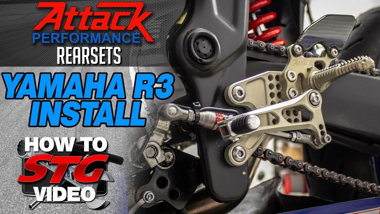 2015-2018 Yamaha R3 STG Project Bike