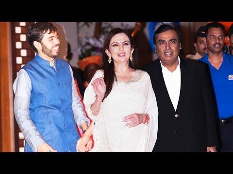 Mukesh Ambani's Handsome Son Anant Snapped At Mumbai Indians Victory Bash